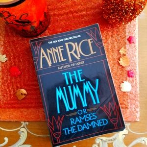The Mummy by Anne Rice paperback